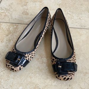 Bandolino Cheetah Flats with Buckle